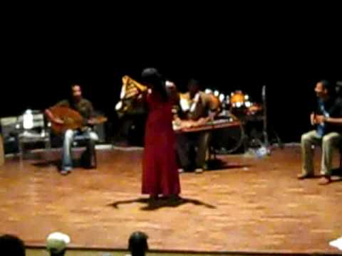 Rehearsal at French Cultural Center Singer, Maputo Mozambique