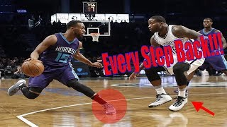 Every Kemba Walker Step-Back Jumper!