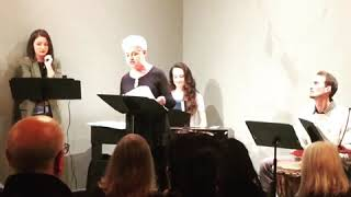 Clips of Cardinal Song performance at MusiCoLab Salon