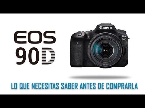 REVIEW CANON 90D ¿UNA CAMARA HIBRIDA? | QUE DEBES SABER ANTES DE COMPRARLA | ARCHIVOS PARA DESCARGA