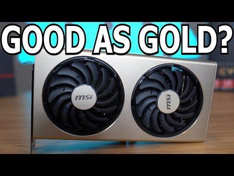 MSI RX 5700 XT Evoke OC vs. AMD Reference Design