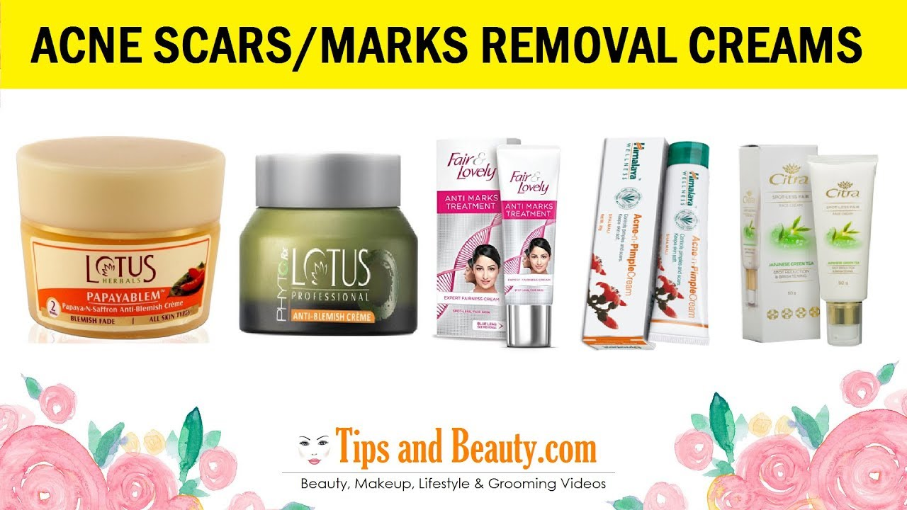 10 Best Acne Scar Removal Creams In India With Prices Youtube