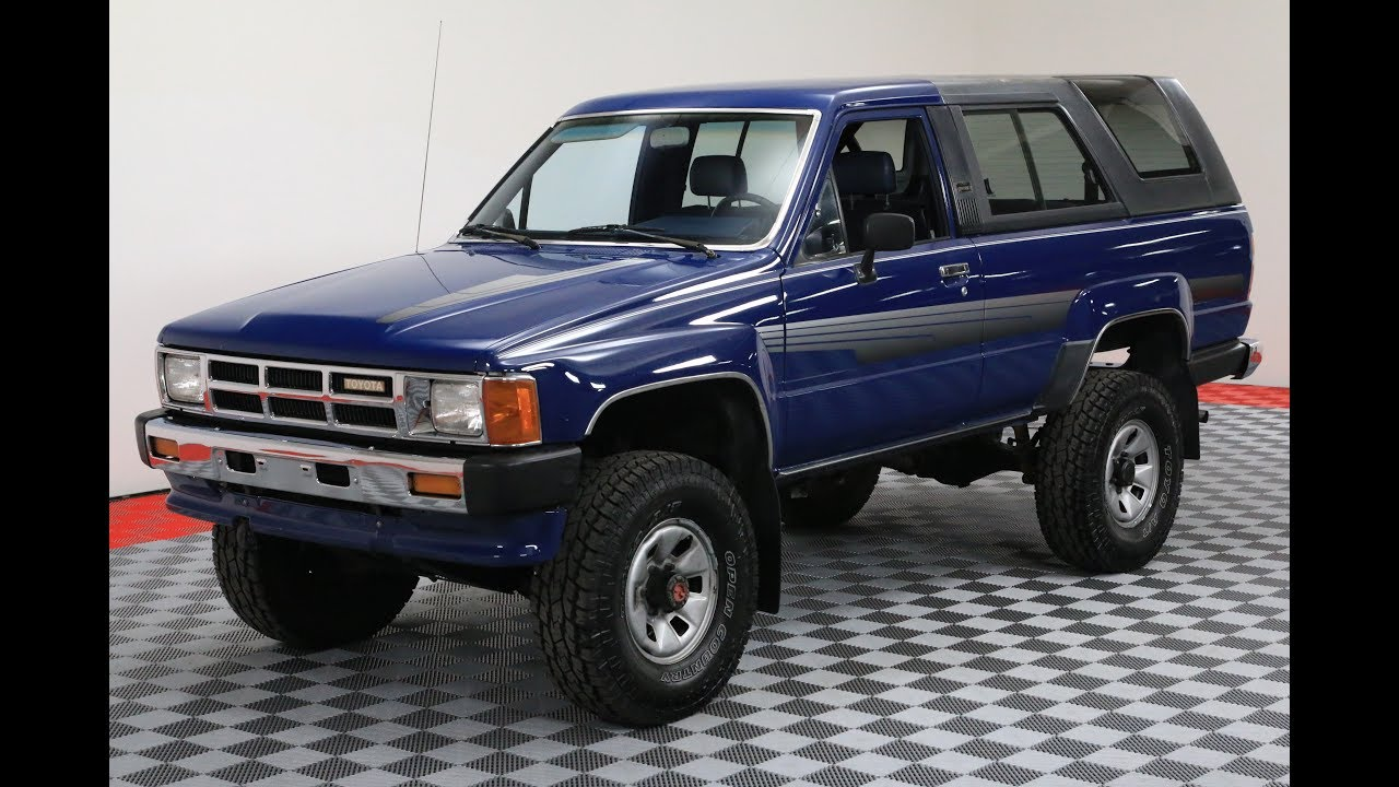 2017 Toyota 4Runner >> 1986 TOYOTA 4RUNNER - YouTube