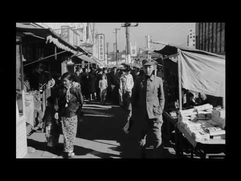 1940s JAPAN Promenading Citizens