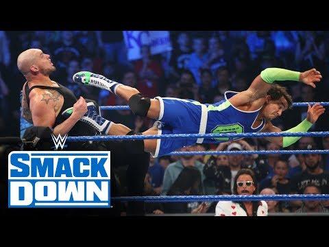 Roman Reigns, Ali & Shorty G vs. King Corbin, Shinsuke Nakamura & Cesaro: SmackDown, Oct. 25, 2019