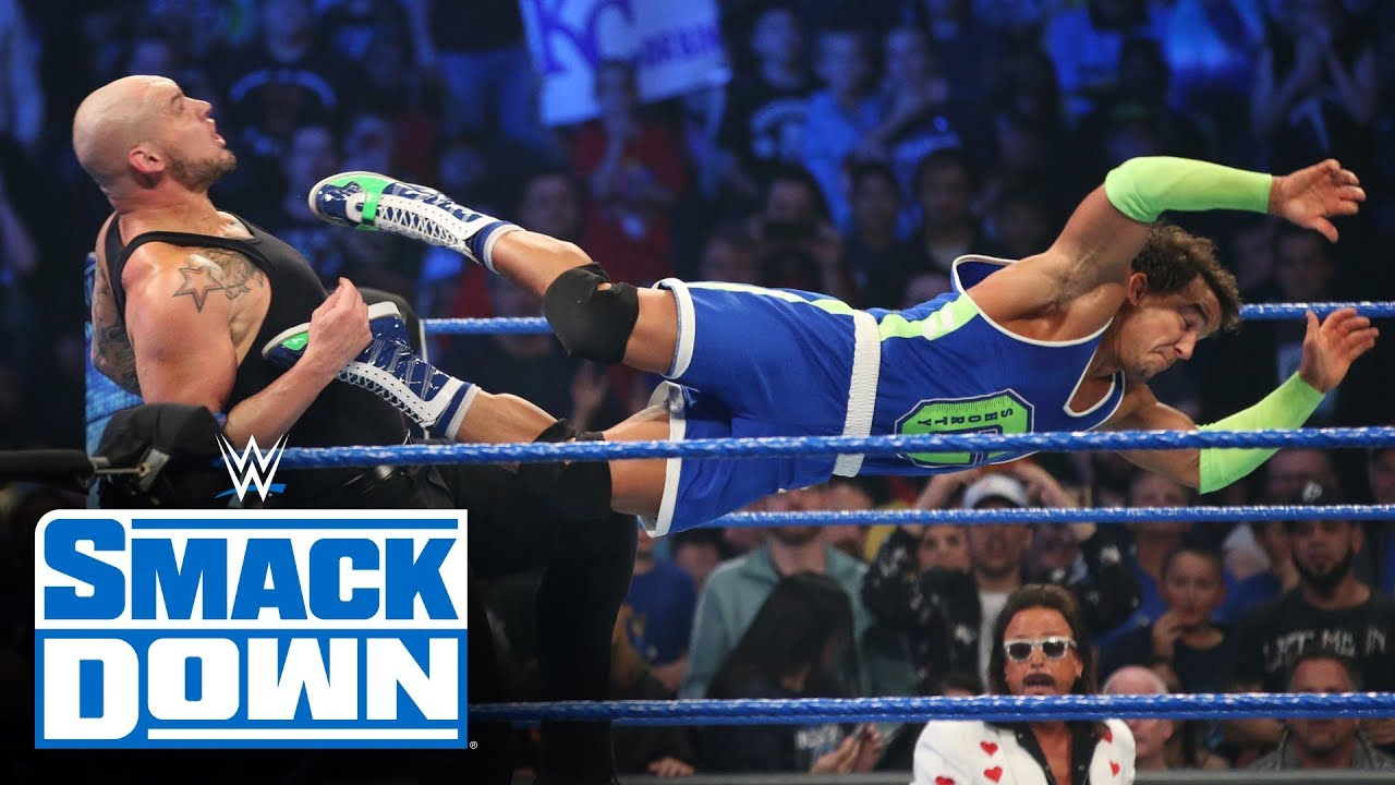 Roman Reigns, Ali & Shorty G vs. King Corbin, Shinsuke Nakamura & Cesaro: SmackDown, Oct. 25