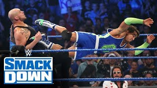 Roman Reigns, Ali & Shorty G vs. King Corbin, Shinsuke Nakamura & Cesaro: SmackDown, Oct. 25, 2019