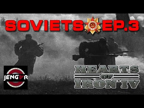 Hearts of Iron 4: Soviet Union Ep. 3 [Annexation of Sweden]