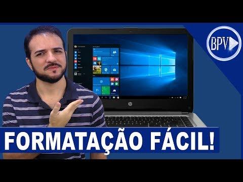 A Forma MAIS FÁCIL De Formatar Seu PC - Série Formatação BPV!