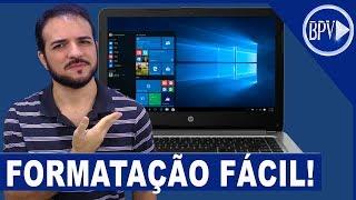 A Forma MAIS FÁCIL de Formatar seu PC - Série Formatação BPV! thumbnail