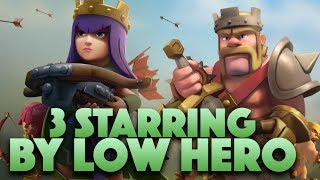 Low Heroes 3 Starring TH9 Part 31 | Clash Of Clans