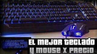 El mejor teclado y mouse gamer.! Baratisimo | Unboxing y Review