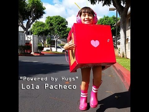 """Lola Pacheco - """"Powered by Hugs"""" music video"""