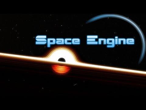 Supermassive Black Hole   Space Engine