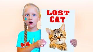 Ястася потеряла своего котёнка