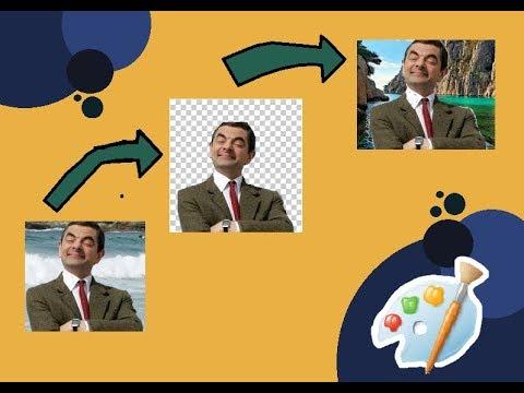 تغيير خلفية الصورة ببرنامج الرسام Change The Background Image Of