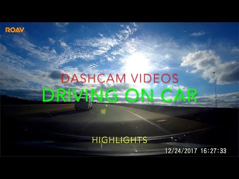 Videos from my dashcam | Driving in Charlotte Area in December