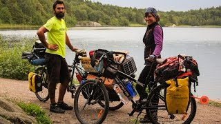 The Bike Canine Cycle Tour (from Copenhagen, Denmark to Oslo, Norway) - All 13 Episodes