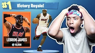*NEW* LEAKED LEBRON JAMES SKIN IN FORTNITE?!? NEW SKIN COMING TO Fortnite: Battle Royale?