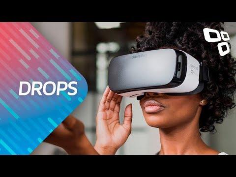 Novo Gear VR pode ter tela OLED, dispensar celular e acabar com enjoos - Drops