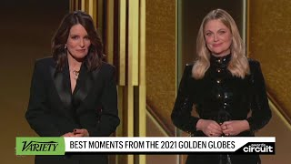 Best Moments from the 2021 Golden Globes