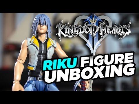 Kingdom Hearts 2 - Riku Action Figure Unboxing