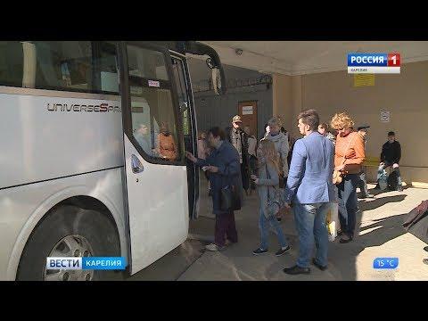 Возобновляется автобусный рейс из Петрозаводска в Йоэнсуу