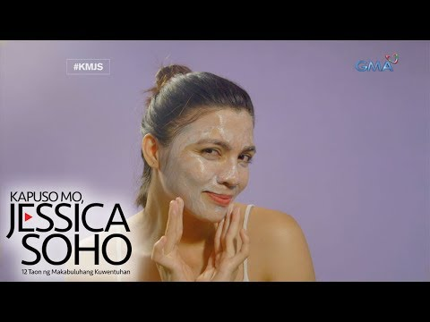 Kapuso Mo, Jessica Soho: Facial mask pa more!