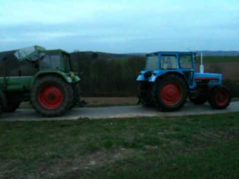 Traktorpulling Fendt Vs Eicher