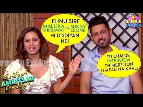 Exclusive Interview | Gippy Grewal | Sargun Mehta | Chandigarh Amritsar Chandigarh | Gabruu Da Dhaba