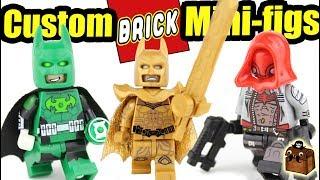 Batman LEGO Series 2 Custom Minifigures 2018