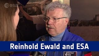 Reinhold Ewald talks about his experiences