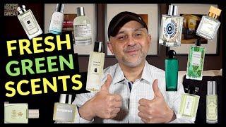 Top 20 Fresh Green Fragrances 💚💚💚