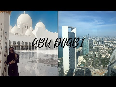 EXPLORING ABU DHABI | travel vlog