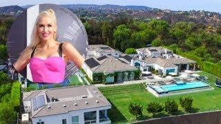 """Gwen Stefani Lists Her Beverly Hills Home, """"The Summit"""" for $35 Million A Private Mansion 2018"""