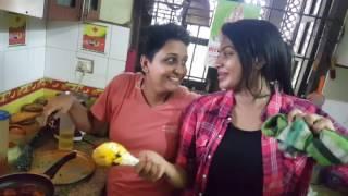 Surprise Meal for Badava Gopi By Saravanan Meenakshi Fame Rachitha