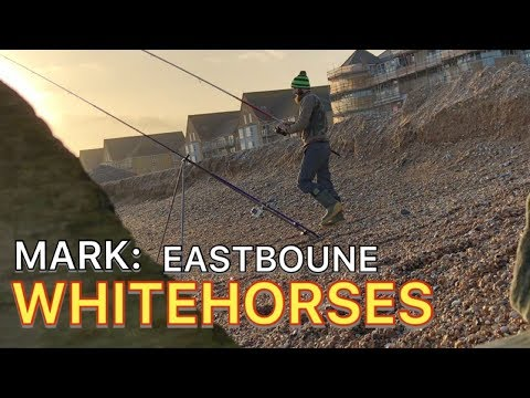 WINTER BEACH FISHING - EASTBOURNE BASS-WHITING 2020