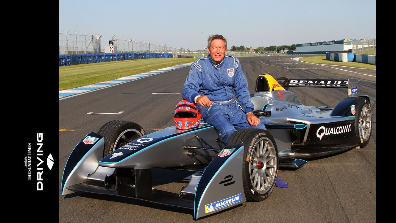 Tiff Needell S First Drive In A Formula E Race Car Youtube