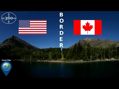 Cross the Canada-US Border in Waterton-Glacier International Peace Park - Travel Clips 360
