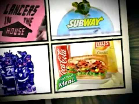 "SUBWAY commercial  ""Lancers Family Fun Deal"""