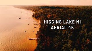 Higgins Lake 2021 | Aerial 4K