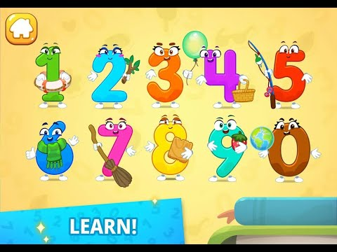 Save Number Gokids | Numbers For Kids! Counting 123 Games | Kids Games For Make Happy