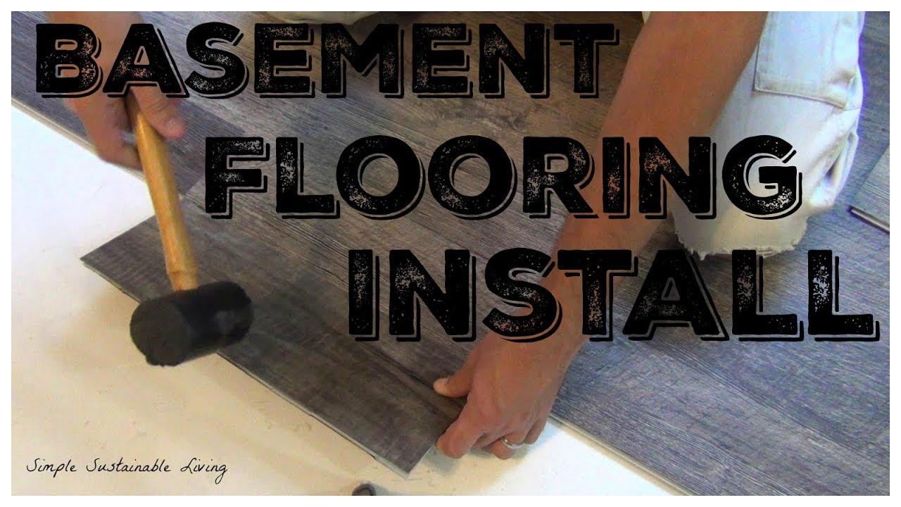How To Install Laminate Or Vinyl Flooring Lifeproof Multi Width Planks Youtube