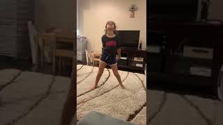 Juju after 1 rhythmic gymnastics class