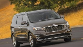 2016 Kia Sedona Start Up, Road Test, and Review 3.3 L V6