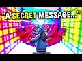 Songs with HIDDEN MESSAGES in Music Blocks in Fortnite! (Noob vs Pro)