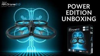 Unboxing Parrot AR.Drone 2.0 Power Edition