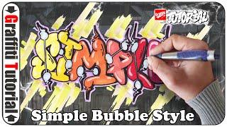 Graffiti Tutorial für blutige Anfänger -  Simple Bubble Style