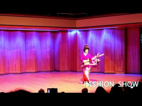"""New"" Kimono Lecture & Fashion Show at University of Alaska Anchorage by Sueko Oshimoto"
