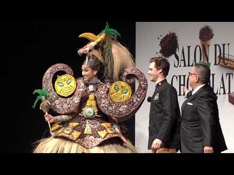 Chocolate Fashion Show @ Salon du Chocolat Brussels 2018